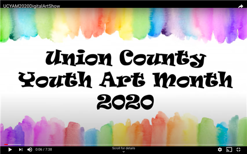 Union County Youth Art Month Online Art Gallery