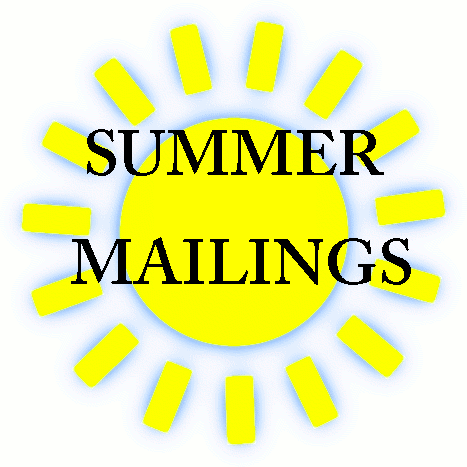 Summer Mailings